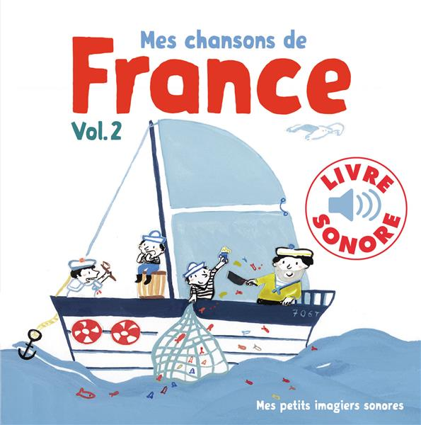MES CHANSONS DE FRANCE, 2 - 6 CHANSONS, 6 IMAGES, 6 PUCES PENICAUD CLEMENCE GALLIMARD